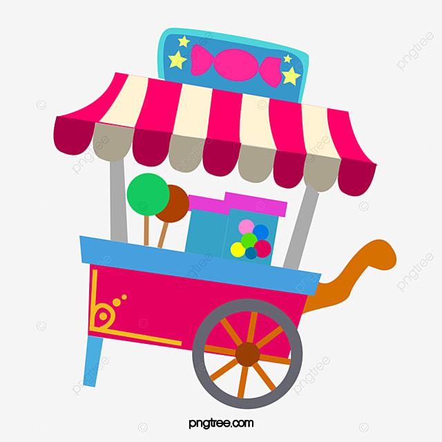 Le Dessin Des Bonbons De Chariot Dessin Des Bonbons