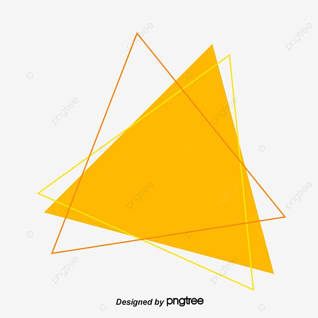 triangle bleu forme fichier png et psd pour le