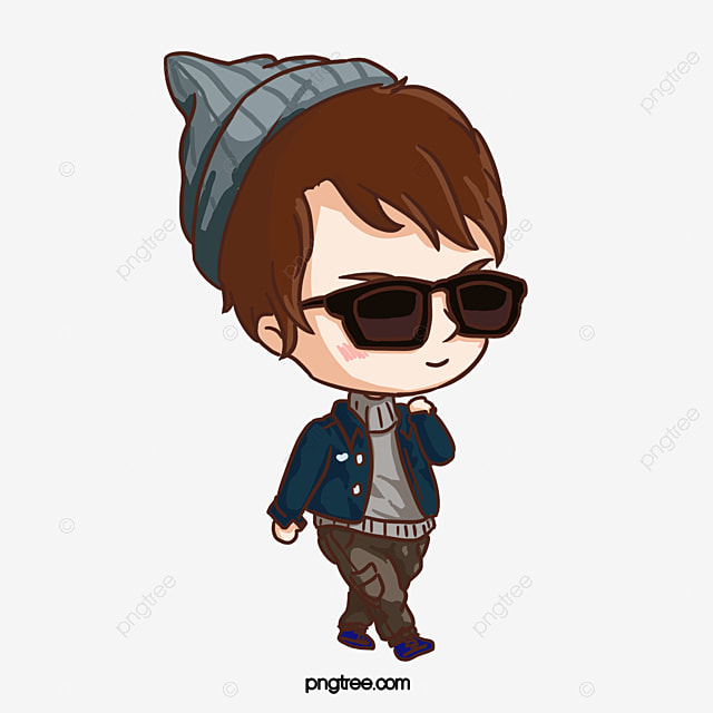 cool cartoon boy little boy cartoon cool boy png and vector for