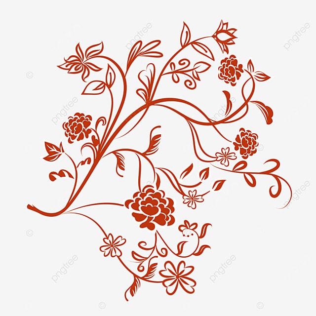 Flor Roja Rojo Flores Planta Png Y Vector Para Descargar Gratis