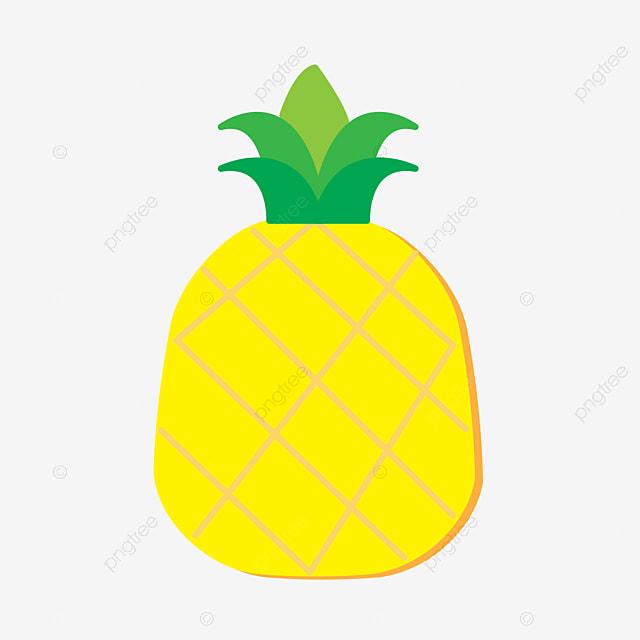 Piña Piña Frutas Cartoon Piña PNG y Vector para Descargar Gratis