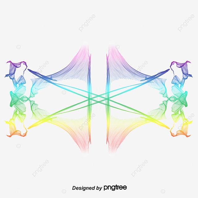 lineas de colores multicolor l u00ednea png y vector para