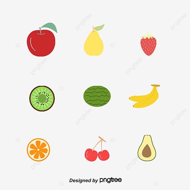 Cartoon fruits album, Cartoon Fruit PNG and PSD