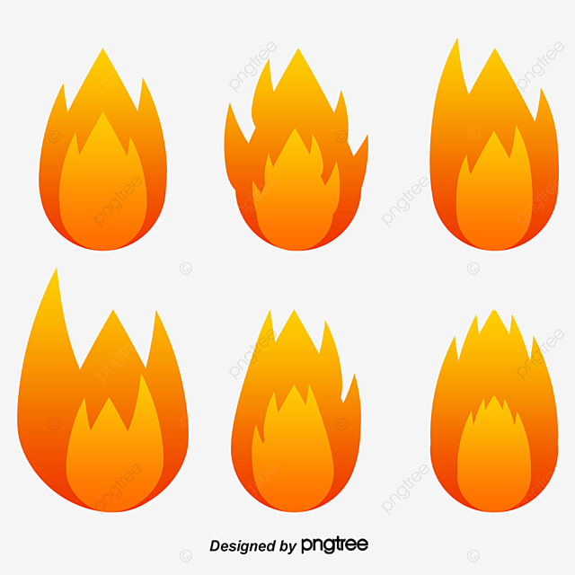 Torches Element Yellow Red Torch PNG And PSD