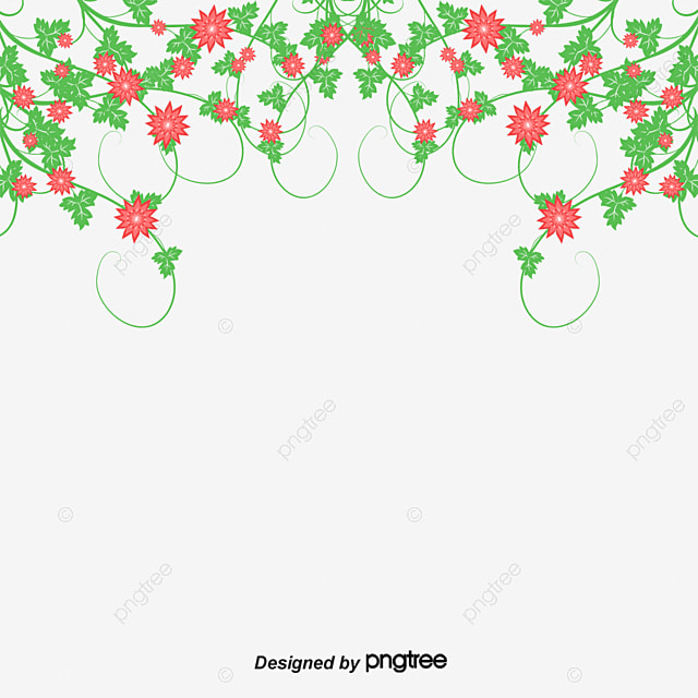Flower Border Flowers Purple Flowers PNG And PSD File For Free Download