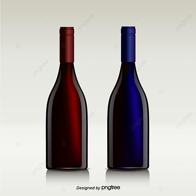 la bouteille de vin le vin rouge la bouteille de vin png