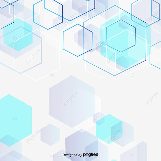 multilayer technology background blue hexagons azul caixa