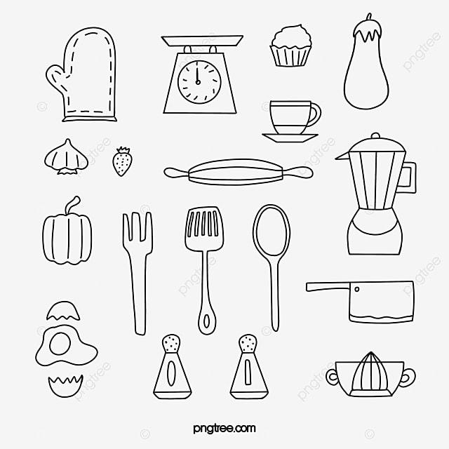 Peralatan Dapur Buah Buahan Dan Sayuran