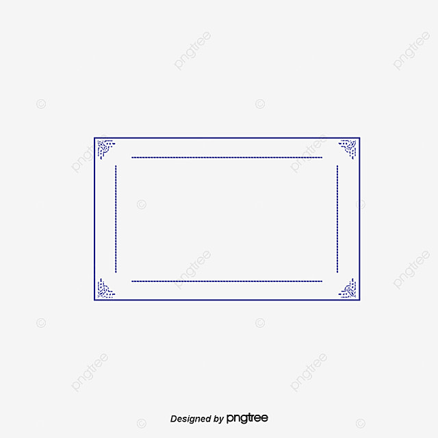 Decorative Borders Purple Border Frame Box Png And Psd