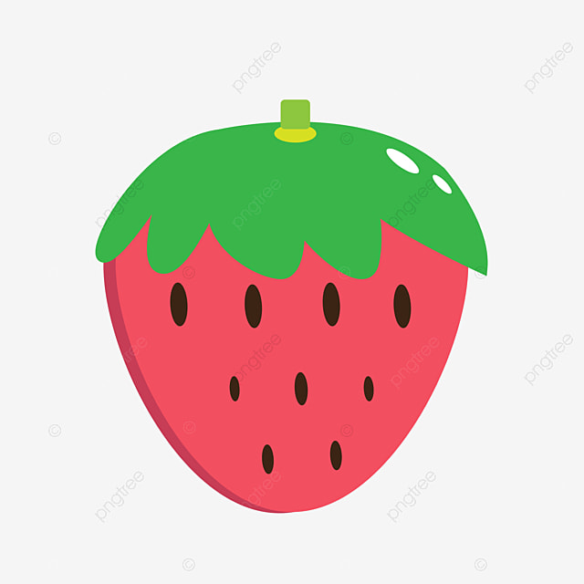 Cute Strawberry Cartoon Cute Png Image And Clipart For