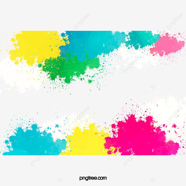 Tinta De Fundo Colorido Pintados 224 M 227 O A Tinta Colorido