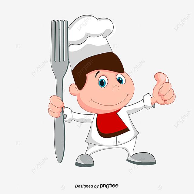 chef de dessin anim gratuit png et psd - Dessin Cuisinier