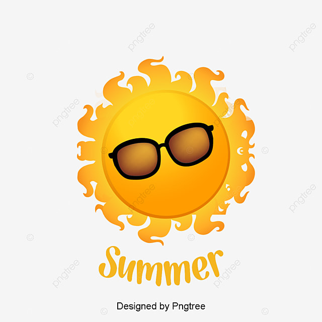 summer sun sun clipart sun glasses png clipart image