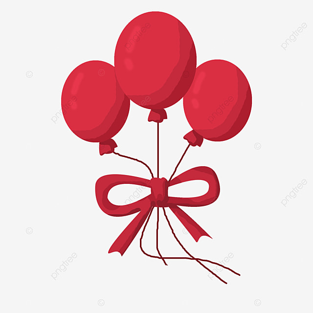 red balloon balloon clipart balloon decoration png image and