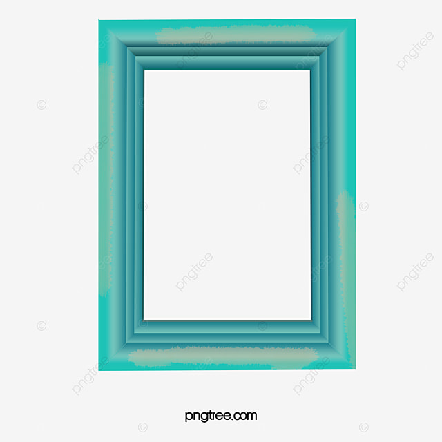Blue Paint Old Wood Frame, Paint Clipart, Wood Clipart, Frame ...