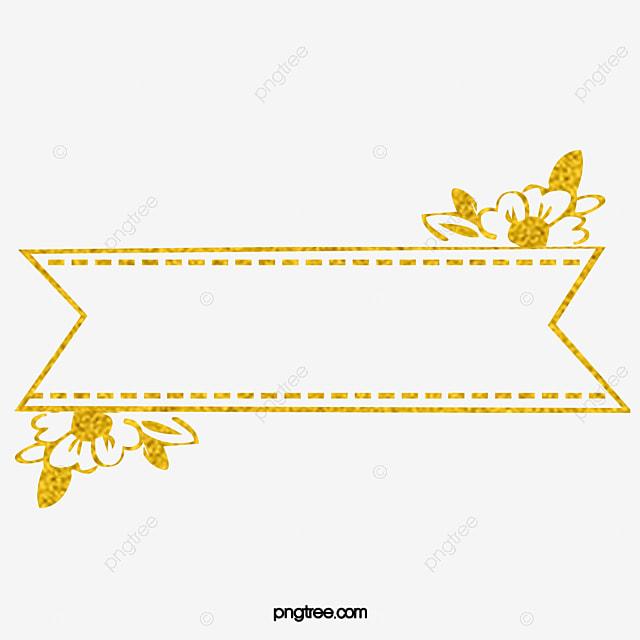 Material Gold Border Gold Golden Frame Png Image For