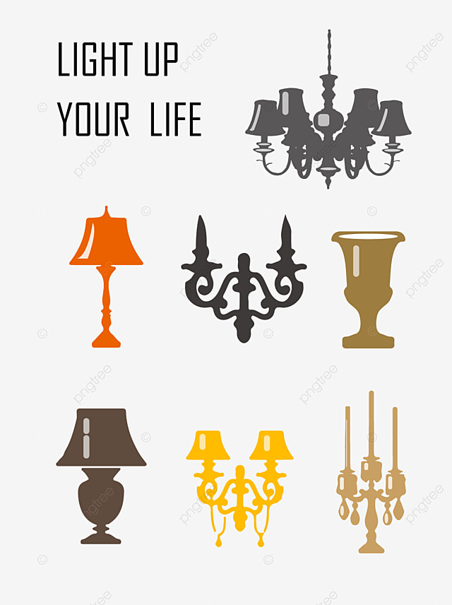 Chandelier European Chandeliers Silhouette PNG Image And Clipart