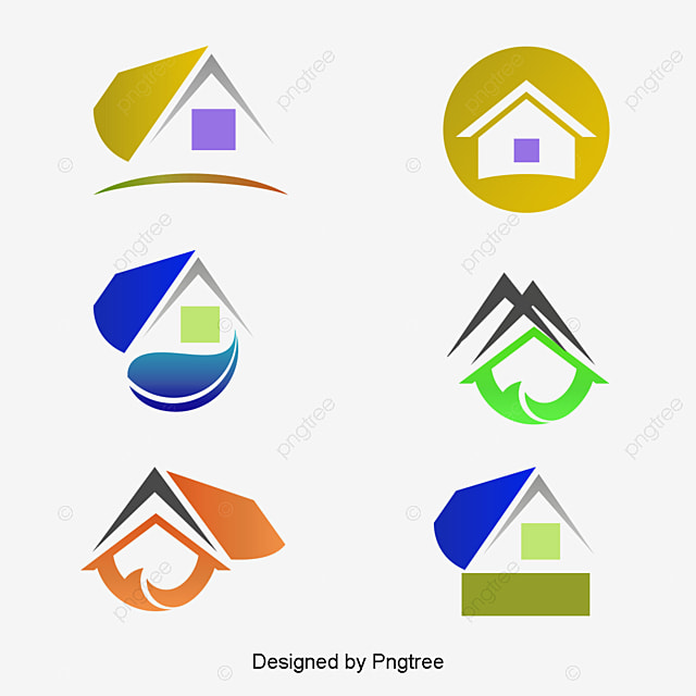 house icon building design real estate png and vector
