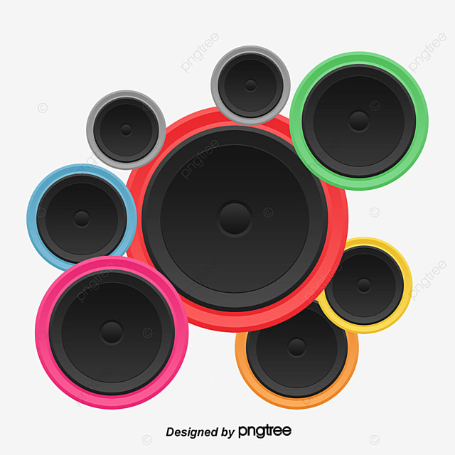 speaker round speakers png and psd file for free download