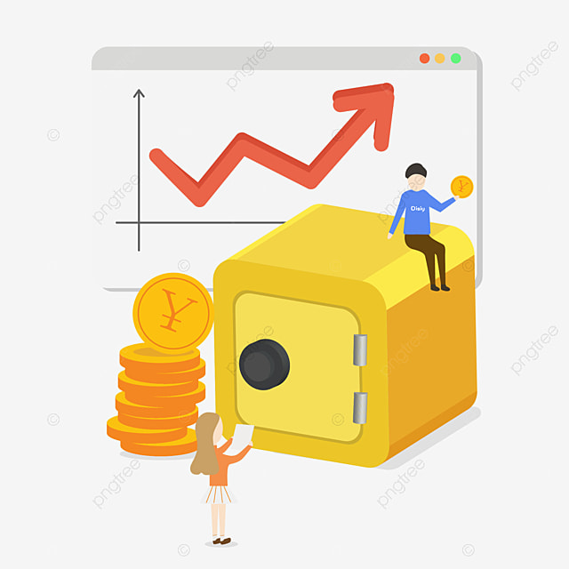 financial, Chart, Stock Market PNG and Vector