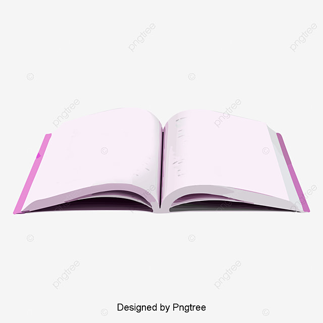 Opened books, Book, Book PNG and PSD File for Free Download