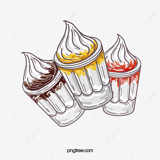 ice cream sundae  sundae  fresh fruit  popsicle png
