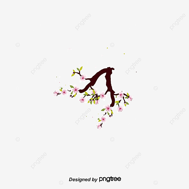 china wind flower, Chinese Elements, Ink Style, Traditional Chinese Painting PNG and PSD