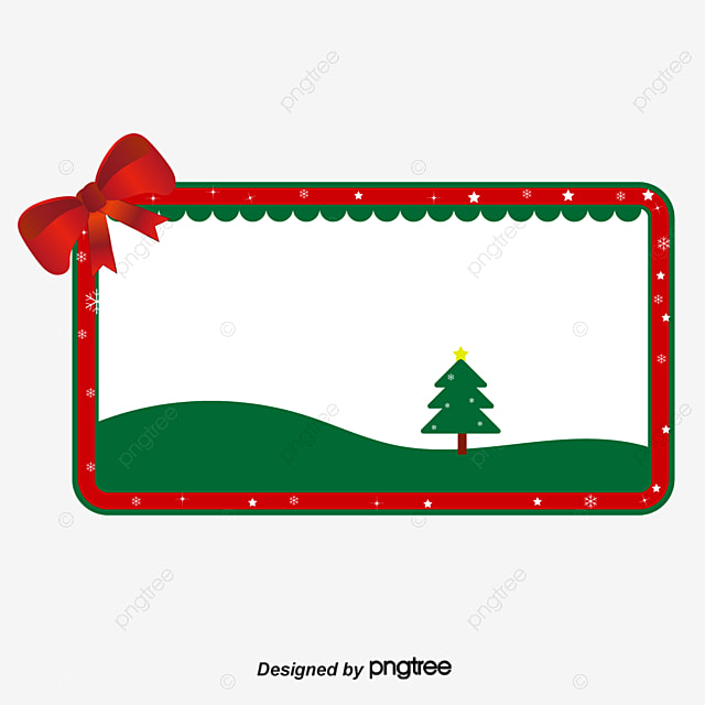 christmas border vector cartoon ai png and vector for free download rh pngtree com christmas border vector graphics christmas border vector images