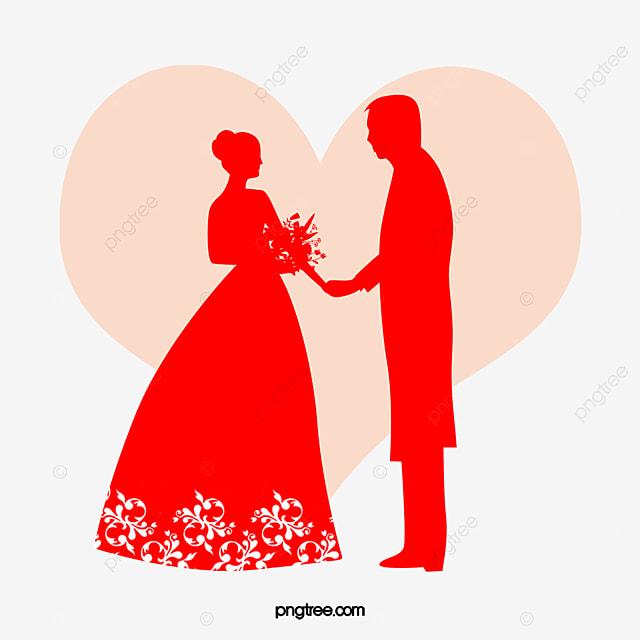 silueta de la novia y el novio  invitaci u00f3n  invitaci u00f3n de groom clipart black and white groom clipart png