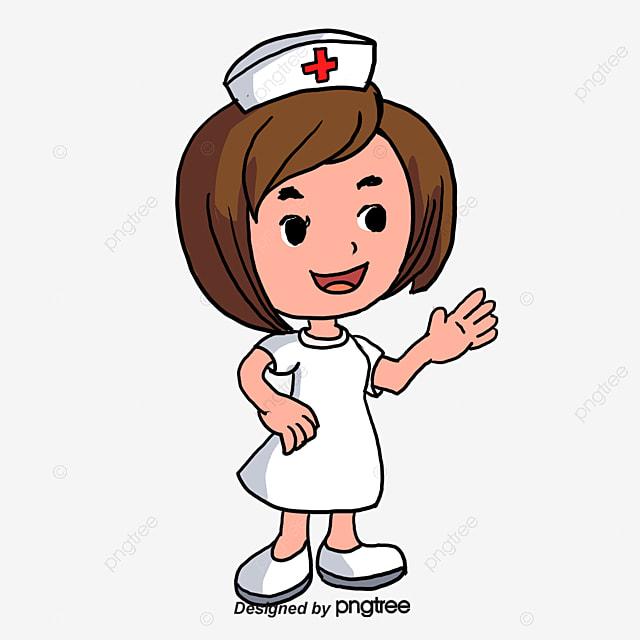 cartoon characters cartoon clipart nurse girl png image
