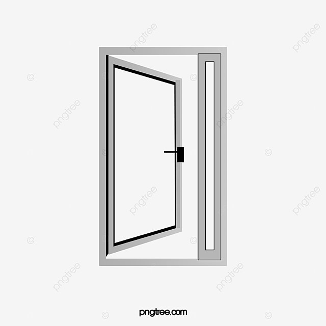 Awesome Glass Door, Web Page, Open, Steel Doors PNG Image And Clipart