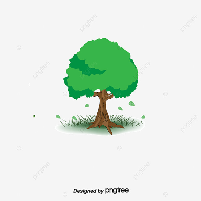 Apple Tree Trees Cartoon PNG And Vector