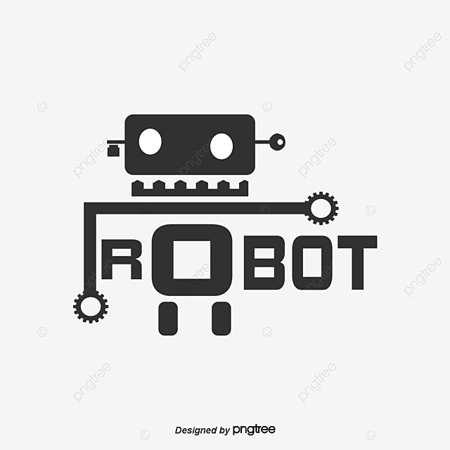 Robot Logo Cartoon Robot Png And Vector For Free Download