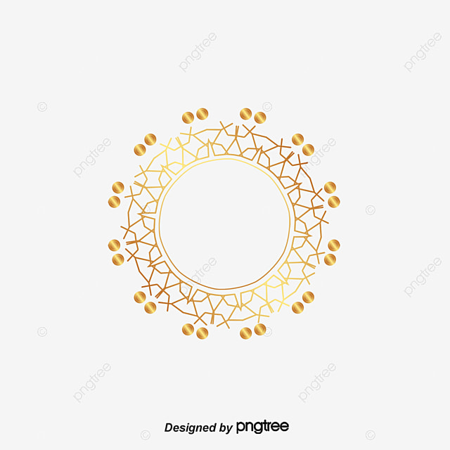 Circular Pattern Border, Round, Vector, Frame PNG and Vector for ...