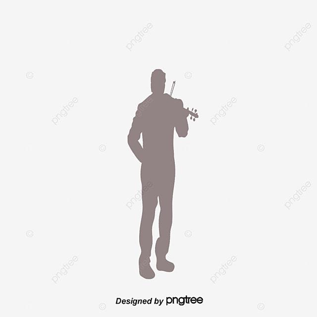 musicians silhouette in black and white silhouette vector black