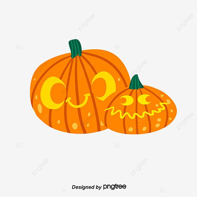Halloween vector material, Halloween, Vector Material, Pumpkin ...