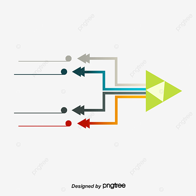 Flow Diagram, Colorful, Arrow, Schematic Diagram PNG and Vector for ...
