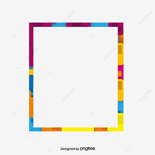 Dibujo Irregular Frontera, Colorido, Irregular, Gráfico PNG y Vector ...