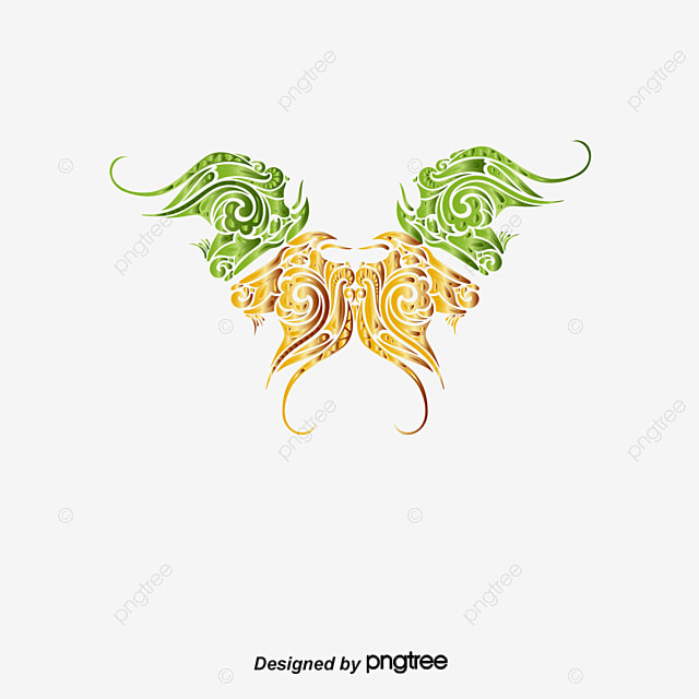 Colorful Hand Painted Animals Color Behind Tattoo Png And Vector