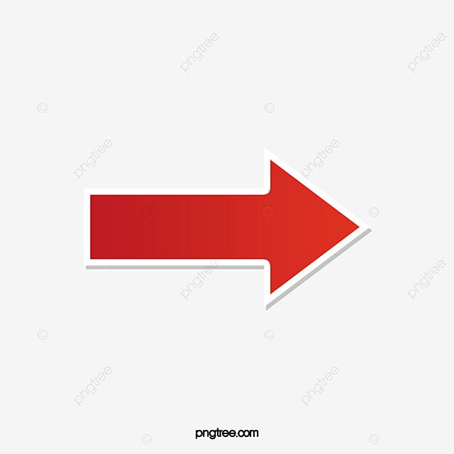 無料ダウンロードのための赤い矢印 矢印 アニメ素材 装飾png画像素材