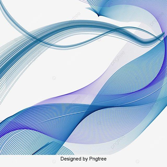 Curva Azul Lineas Azul Curva L 237 Nea Imagen Png Para
