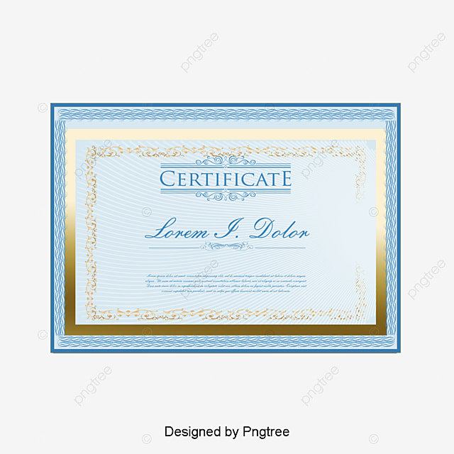 Certificate, Certificate Box, Decoration PNG and PSD File ...