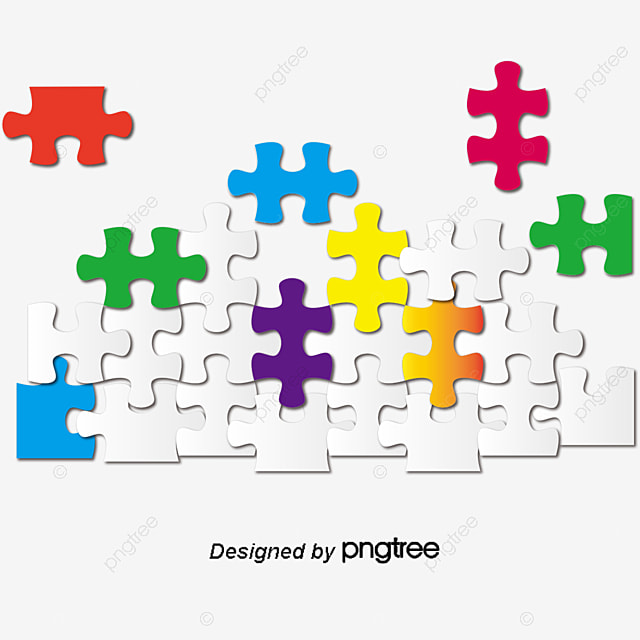 mod u00e8le de couleur d arri u00e8re plan de puzzle puzzle couleur des pi u00e8ces de puzzle ombrage de motif