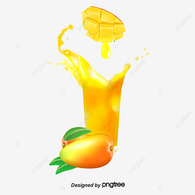mango juice yellow fruit juice png and psd file for free