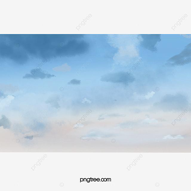 無料ダウンロードのための空 空 素材 白雲png画像素材