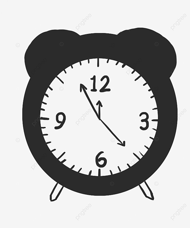 alarm clock clock vector png image and clipart for free download rh pngtree com free clock vector file free vector clock face