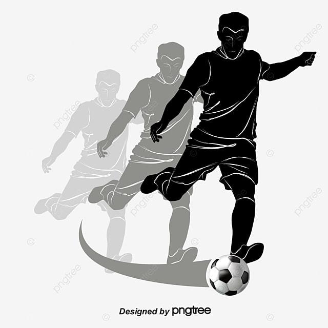 os atletas de futebol o futebol os atletas figuras do