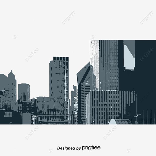 la construction de la ville de dessins anim s dessin couleur ville png et vecteur pour. Black Bedroom Furniture Sets. Home Design Ideas
