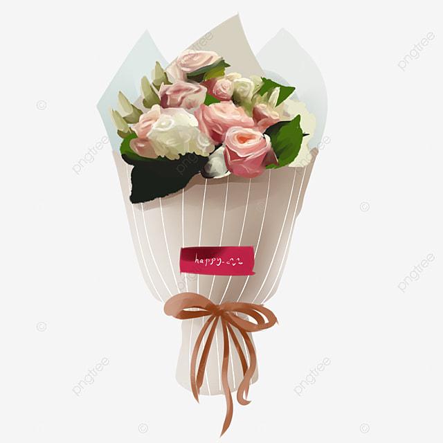 Un Bouquet De Roses Rose Rose Fleur Romantique De Bouquets De Fleurs