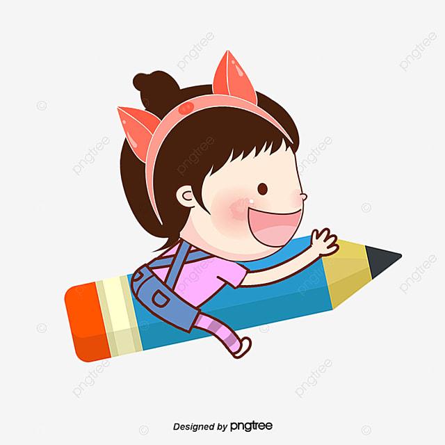 Resultado de imagen para dibujo de niños estudiando con lapiz